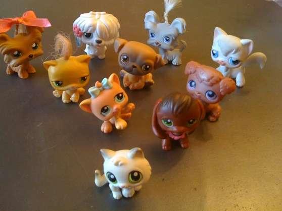 Lot de 10 pet shop à Les Clayessousbois JOUETS  JEUX MODÉLISME  ~ Les Clayes Sous Bois Code Postal