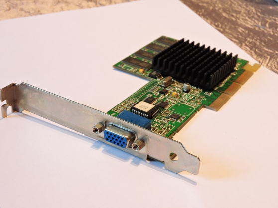 Annonce occasion, vente ou achat 'Carte VGA XPERT2000PRO 32M AGP ATI'