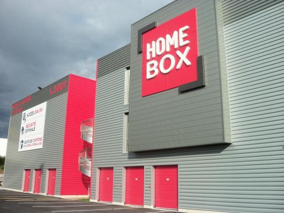 BOX LIBRE STOCKAGE GARDE MEUBLES HOMEBOX