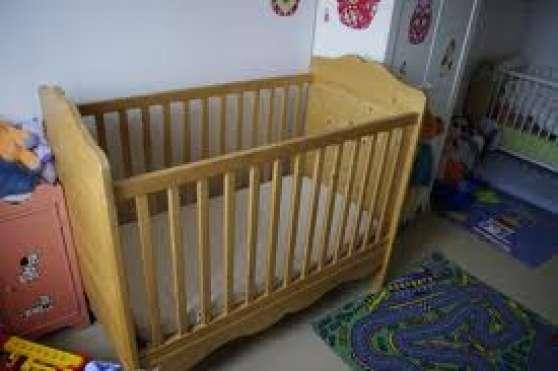 Lit b b barreaux int rior 39 s aubenas meubles d coration lits d 39 - Canape interiors occasion ...