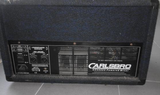 Combo Carlsbro GD 6000 S - Photo 2