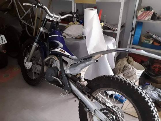 Moto trial SCORPA 250 cc,2002, cse deces