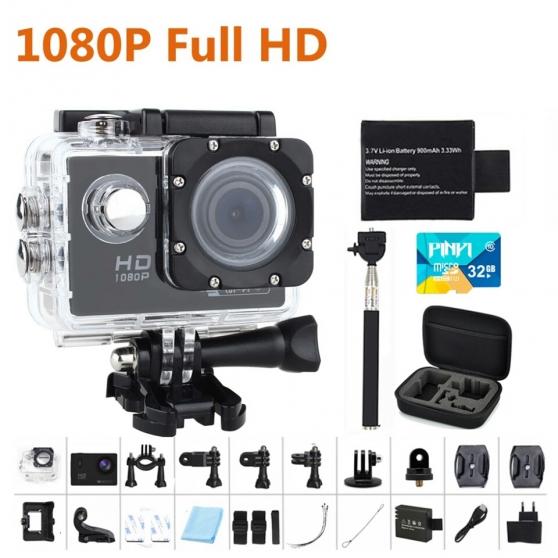 Go pro 1080p full hd et accessoires