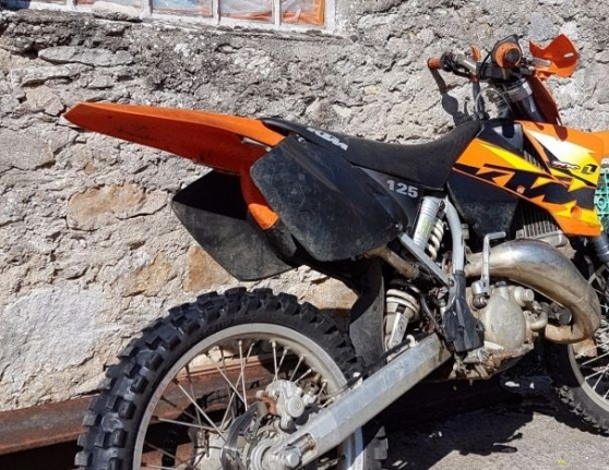 ktm sx 125cc cross moto