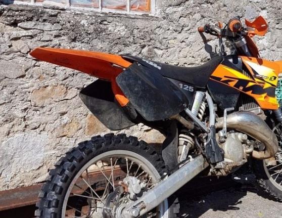 Annonce occasion, vente ou achat 'ktm sx 125cc cross moto'
