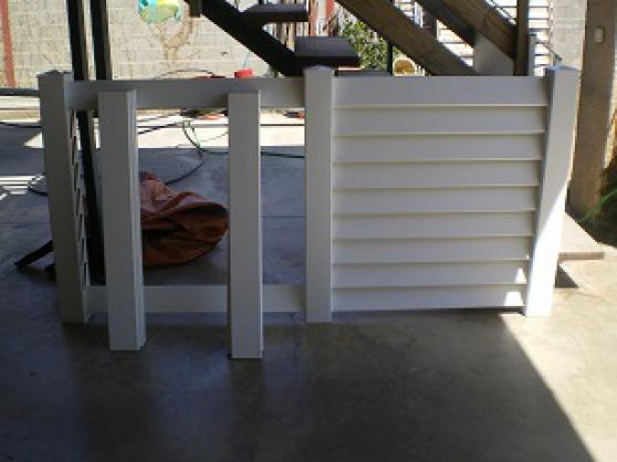 clôture pvc blanche neuve - Annonce gratuite marche.fr