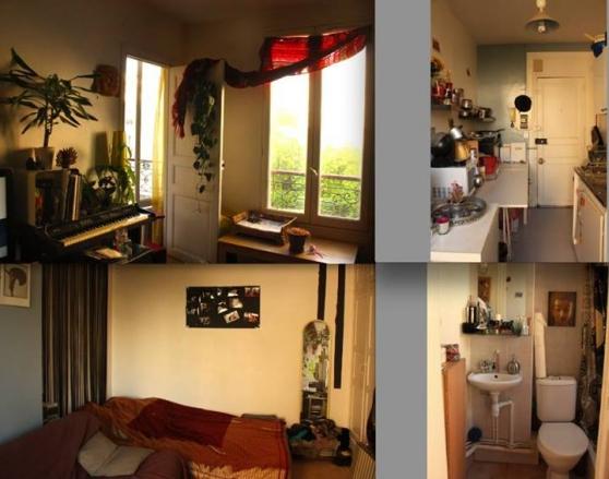 Studio meublé 27m2 Paris 11