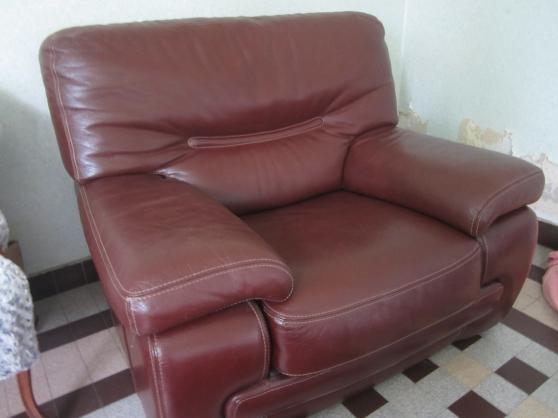 fauteuil en cuir crozatier - Annonce gratuite marche.fr