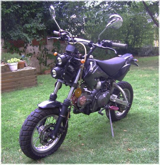Annonce occasion, vente ou achat 'Dirt 4T 50 cc homologué Thumpstar'