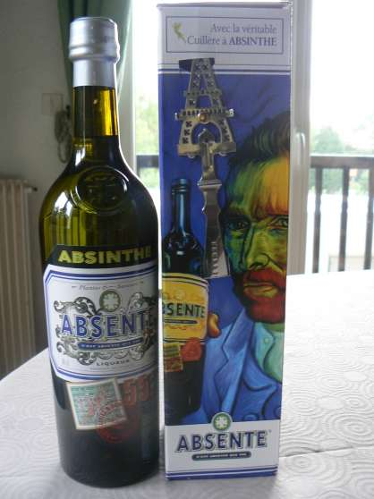"VERITABLE ABSINTHE ""ABSENTE"" 70cl, 55°,"