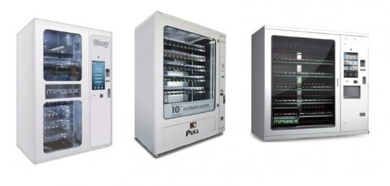3 Distributeurs automatiques MAGEX