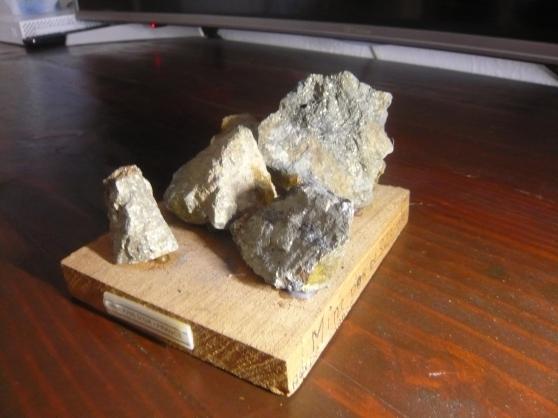 minerais d'or