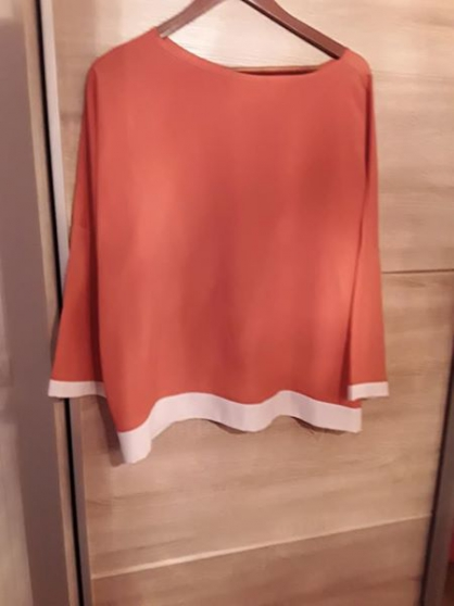 Haut orange - Photo 1