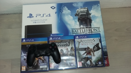 Annonce occasion, vente ou achat 'Console Playstation 4 (1 To) - Edition L'