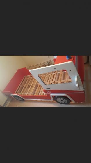 Annonce occasion, vente ou achat 'Lit pompier+sommier+matelas'
