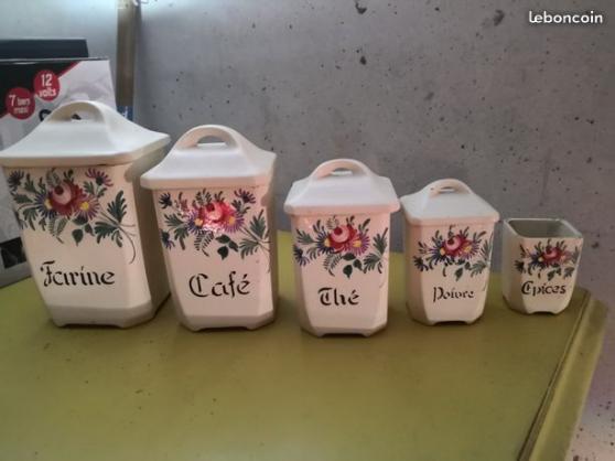 lot de pot à épices - Annonce gratuite marche.fr