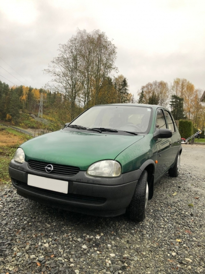 Annonce occasion, vente ou achat 'Opel Corsa Vert Essence'