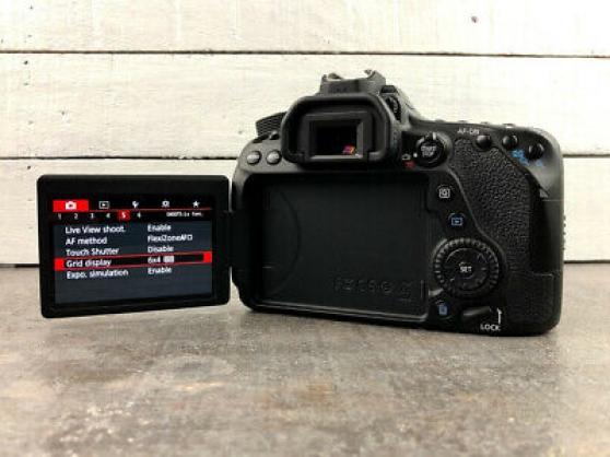 Annonce occasion, vente ou achat 'Appareil photo reflex Canon 80D 24,2MP'