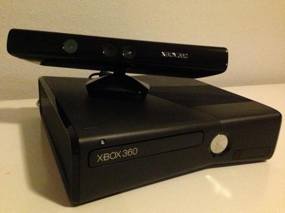 Xbox-360-slim+ 2 manettes+ 4 jeux - Photo 3