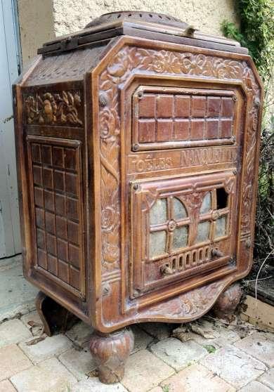 po le bois ancien de marque nanquette meubles d coration po le chemin e metz reference. Black Bedroom Furniture Sets. Home Design Ideas