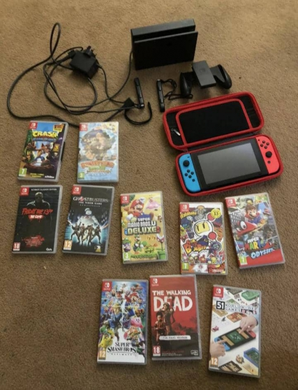 Nintendo Switch en bon état - Photo 3