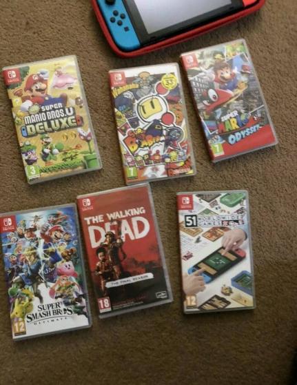 Nintendo Switch en bon état - Photo 4
