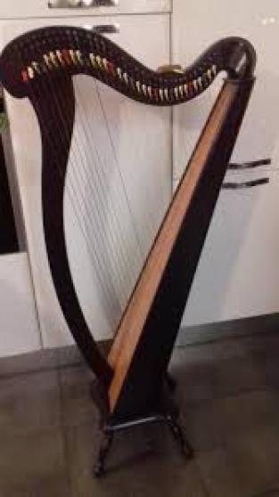 Harpe 34 Cordes Garantie 6 mois