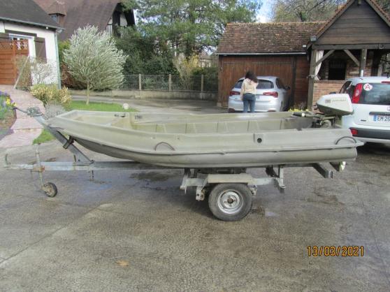 barque moteur remorque - Photo 3