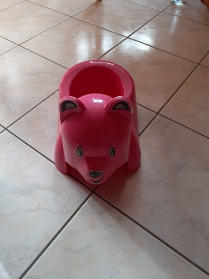 chaise haute + matelas + pot - Photo 3