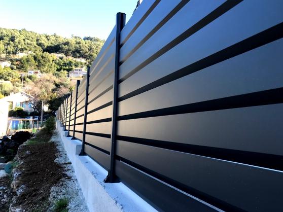 Annonce occasion, vente ou achat 'Clôture aluminium en kit H875mmx2.83l'