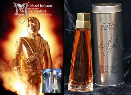 Michael Jackson parfum history