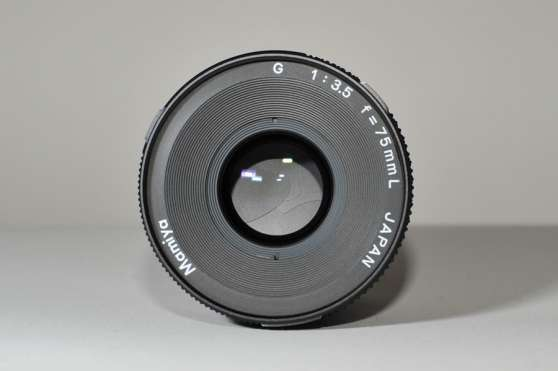 Annonce occasion, vente ou achat 'Mamiya 75mm f3.5'