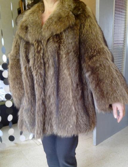 Manteau marmotte