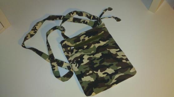 Petite pochette style militaire 24 * 20 - Photo 2