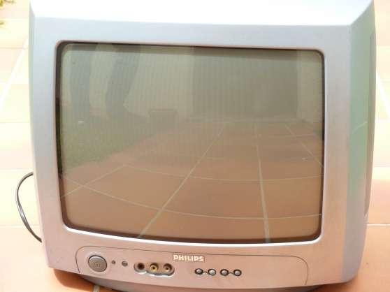 TVcouleur 36cm Philips + décodeur