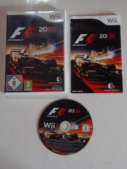 WII Formula 1 2009 (3+) avec boitier et