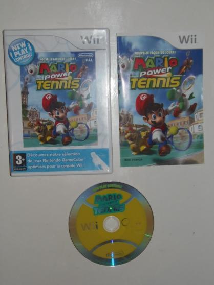 Jeu WII Mario Power Tennis (3+)