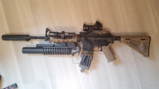 Replique Airsoft m4 pts