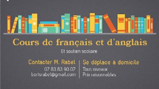 donne cours de français et d'anglais - Annonce gratuite marche.fr