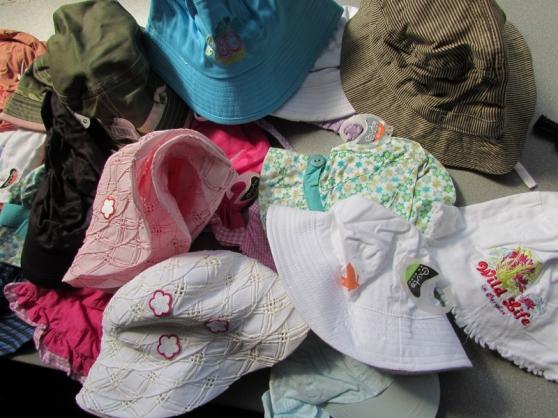 lot destockage casquette chapeau bob été