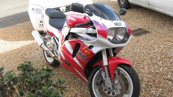 Annonce occasion, vente ou achat 'moto suzuki gsxr 750'