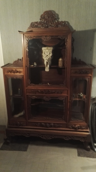 Annonce occasion, vente ou achat 'vitrine chinoise 19eme siècle'