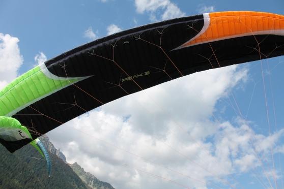 Annonce occasion, vente ou achat 'Niviuk Peak 3 21m² - PTV 70/85kg'