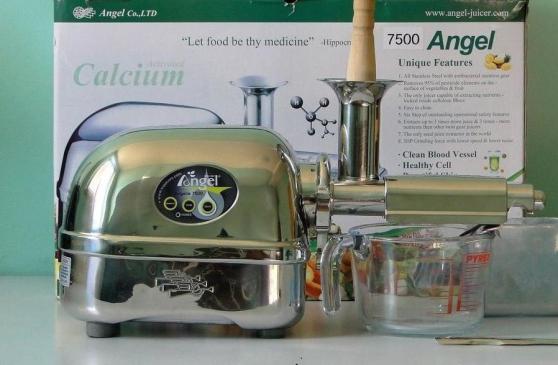 Annonce occasion, vente ou achat 'Extracteur de jus ANGEL 7500 neuf'