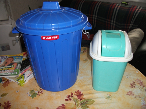 Poubelles (lot de 2) - Photo 1