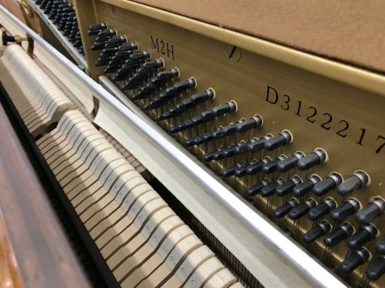 Annonce occasion, vente ou achat 'Piano droit Yamaha M2H noyer satiné'