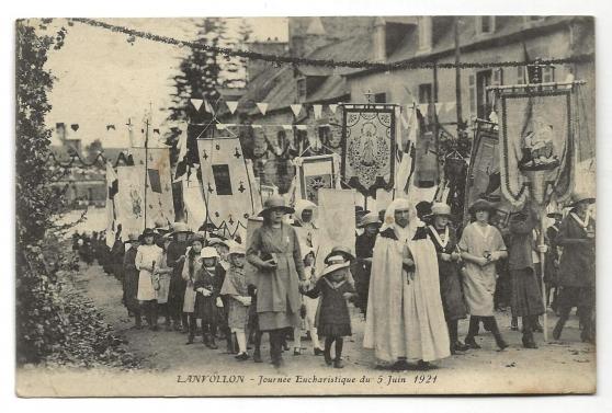 Annonce occasion, vente ou achat 'Lanvollon (22) Journée Eucharistique du'