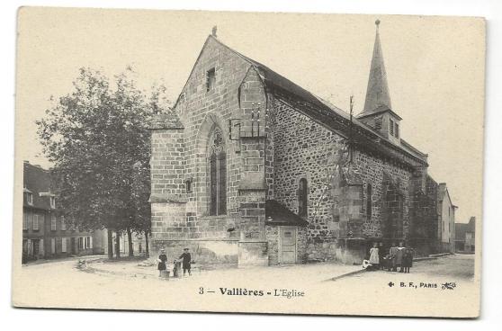 VALLIERES (23) L'Eglise