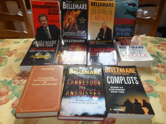 Annonce occasion, vente ou achat 'livres pierre belmare'