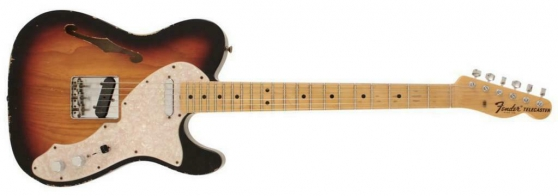 Annonce occasion, vente ou achat 'Fender Custom Shop '69 relic Thinline'